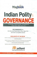 Magbook Indian Polity & Governance Civl Services Exam : Code J359