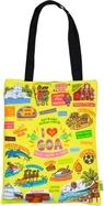 Eco Corner Small Coloured Goa Cotton Bag