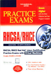 Rhcsa/Rhce Red Hat Linux Certification Practice    Exams With Virtual Machines Exams Ex200 & Ex30