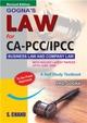Law For Ca Pcc/Ipcc A Self Study Textbook