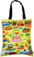 Eco Corner Big Coloured Goa Cotton Bag