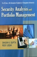 Security Analysis & Portfolio Management For Bcom 6 Sem : Bu