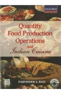 Quantity Food Production Operations & Indian Cuisine W/Cd