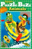 Puzzle Buzz: Animals [With Stickers]