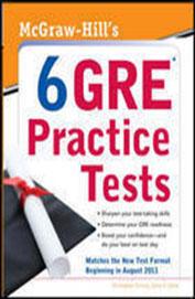 Mcgraw Hills 6 Gre Practice Tests
