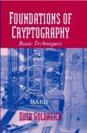 Foundations Of Cryptography Vol 1 Basic Tools
