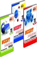 Ncert Solutions Class - 11 - Pcm ( Set Of 3 Books )