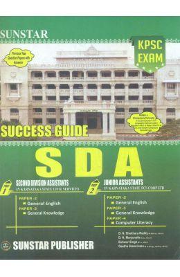 Success Guide Sda Kpsc Exam