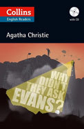 Why Didn't They Ask Evans : Collins English Readerw/mp3 Cd