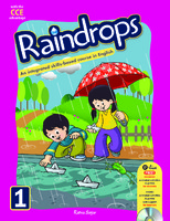 Raindrops English Reader Book 1 (CCE Edition)