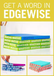 Knock Knock Whatever Edge Notebook