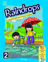 Raindrops English Reader Book 2 (CCE Edition)