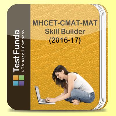 MHCET-CMAT-MAT Skill Builder (2016-17)