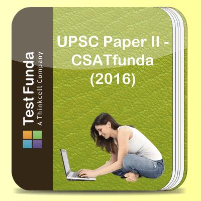 UPSC Paper II - CSATfunda (2016)
