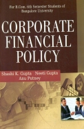 Corporate Financial Policy Bcom 6 Sem - Bu