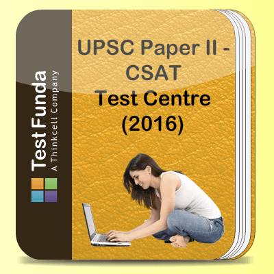 UPSC Paper II - CSAT Test Centre (2016)