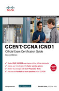 Ccent Ccna Icnd 1 Official Exam Certification Guide 640-822 W/Cd
