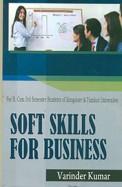 Soft Skills For Business Bcom 3r Sem : Bu