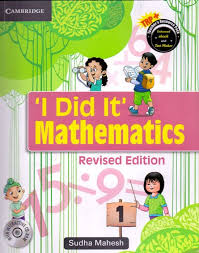 I Did It Mathematics 1 W/Cd : Cce Edition