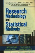 Research Methodology & Statistical Methods Bba/ Bpt/mcom/mba/mpt