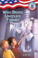 Who Broke Lincolns Thumb : Capital Mysteries 5