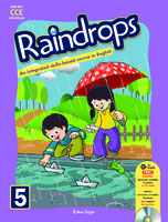Raindrops English Reader Book 5 (CCE Edition)