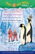 Magic Tree House Books 37-40: Dragon of the Red Dawn; Monday with a Mad Genius; Dark Day in the Deep Sea; Eve of the Emperor Penguin