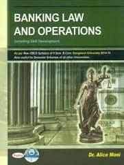 Banking Law & Operations For Bcom 2nd Sem : Bu