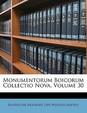 Monumentorum Boicorum Collectio Nova, Volume 30