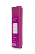 Moleskine 2014 Weekly Planner, Horizontal, 12 Month, Extra Small, Magenta, Hard Cover (2.5 X 4 )