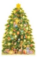A Christmas Tree Advent Calendar