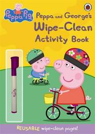 Peppa & Georges Wipe Clean Activity Book : Peppa Pig