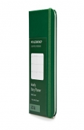 Moleskine 2014 Weekly Planner, Horizontal, 12 Month, Extra Small, Oxide Green, Hard Cover (2.5 X 4 )
