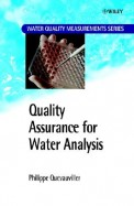 Quality Assurance For Water Analysis