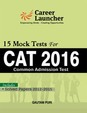 Cat 2016 Solved Papers 2012-2015 15 Mock Test