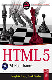 Html 5 24 Hour Trainer W/Cd