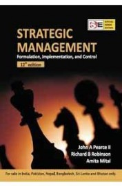 Strategic Management Formulation Implementaion &   Control