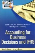 Accounting For Business Decisions & Ifrs Bcom 6    Sem : Bu