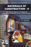 Materials Of Construction 2 For 2 Sem Diploma In   Civil Engineering Be Btech Various Universitie