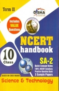 Ncert Handbook Science & Technology Sa 2 Term 2 Class 10 Includes Value Questions