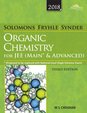 Solomons Fryhle Synderorganic Chemistry For Jee Main & Advanced 2018