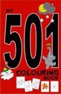 My 501 Colouring Book : Black