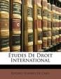 Etudes de Droit International
