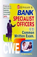 Bank Specialist Officers It Common Written Exam Cwe : Ibps: Code-1758