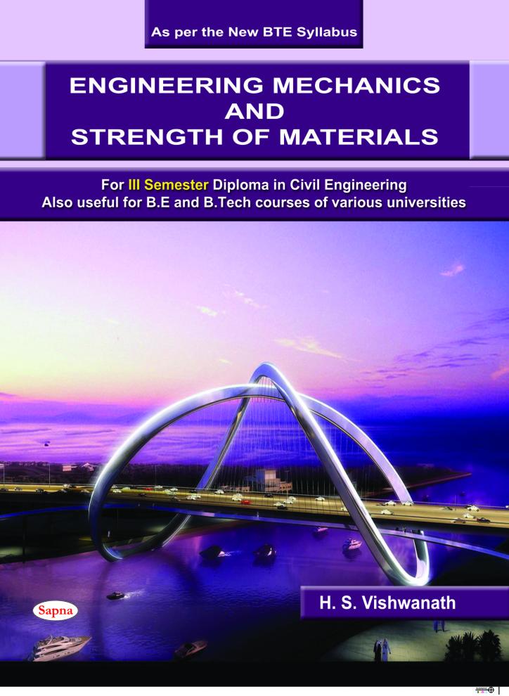 Engineering Mechanics & Strength Of Materials 3 Semester : Civil