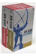 Ayn Rand Box Set Of 2 Books : The Fountainhead : Atlas Shrugged