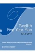 Twelfth Five Year Plan 2012-2017 Set Of 3 Vols