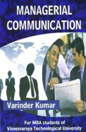 Managerial Communication For Mba: Vtu