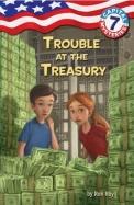 Trouble Ar The Treasury : Capital Mysteries 7