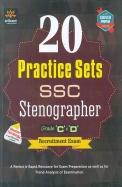 20 Practice Sets Ssc Stenographer Grade C & D     Recruitment Exam: Code G494